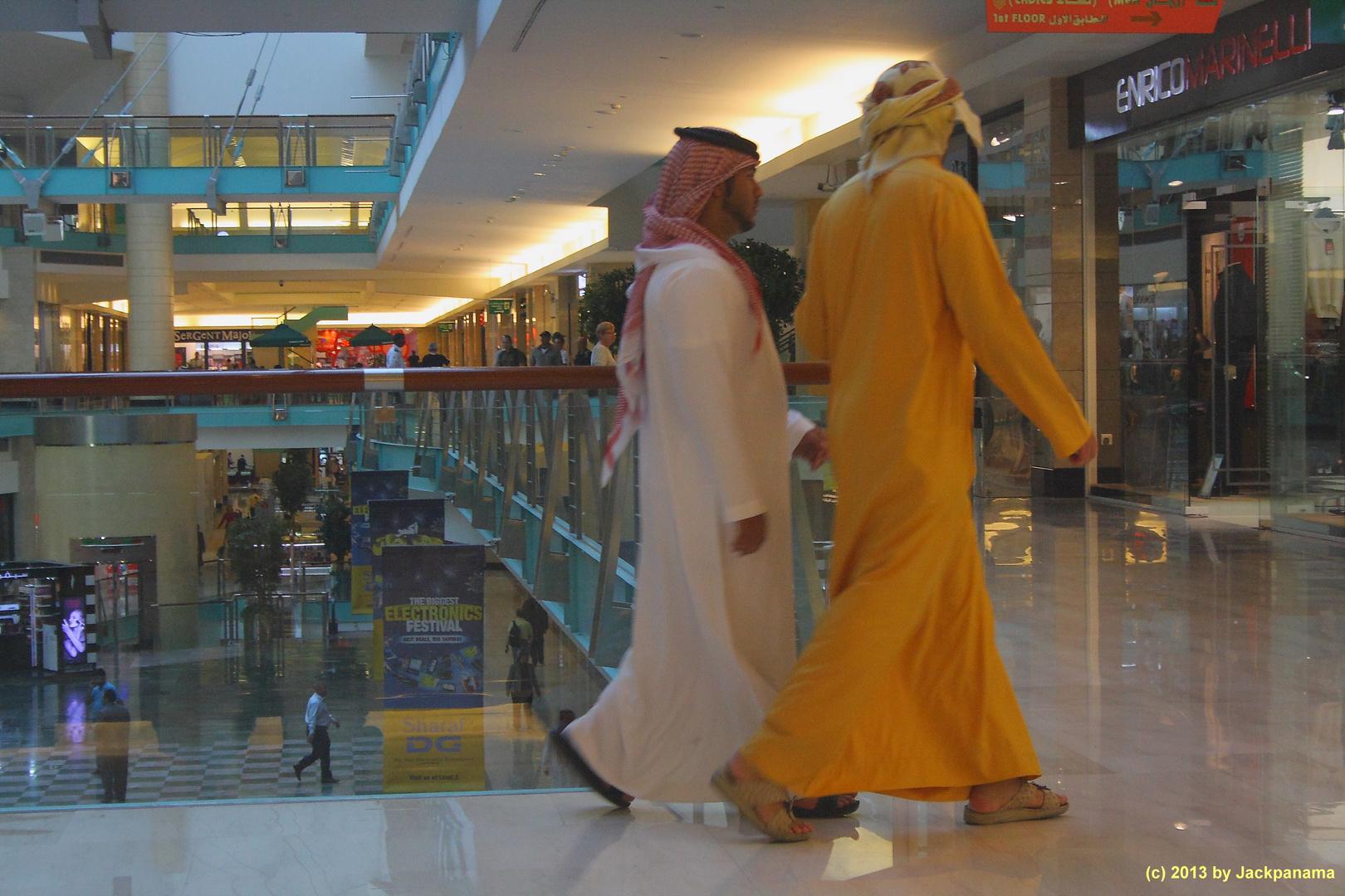 In der Abu Dhabi-Mall