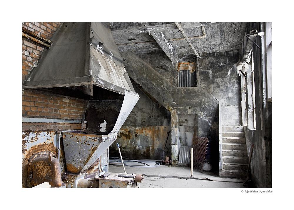 In der alten Fischfabrik