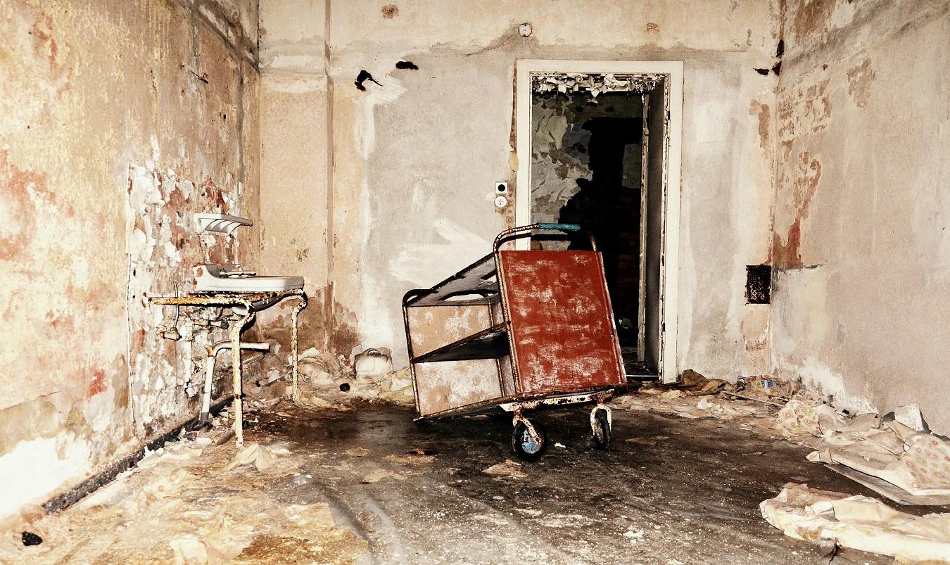 in der alten Klinik