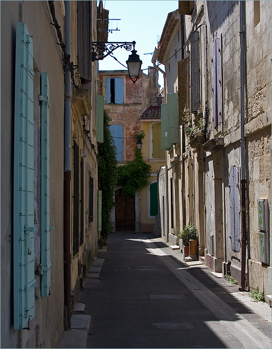 In der Altstadt von Arles
