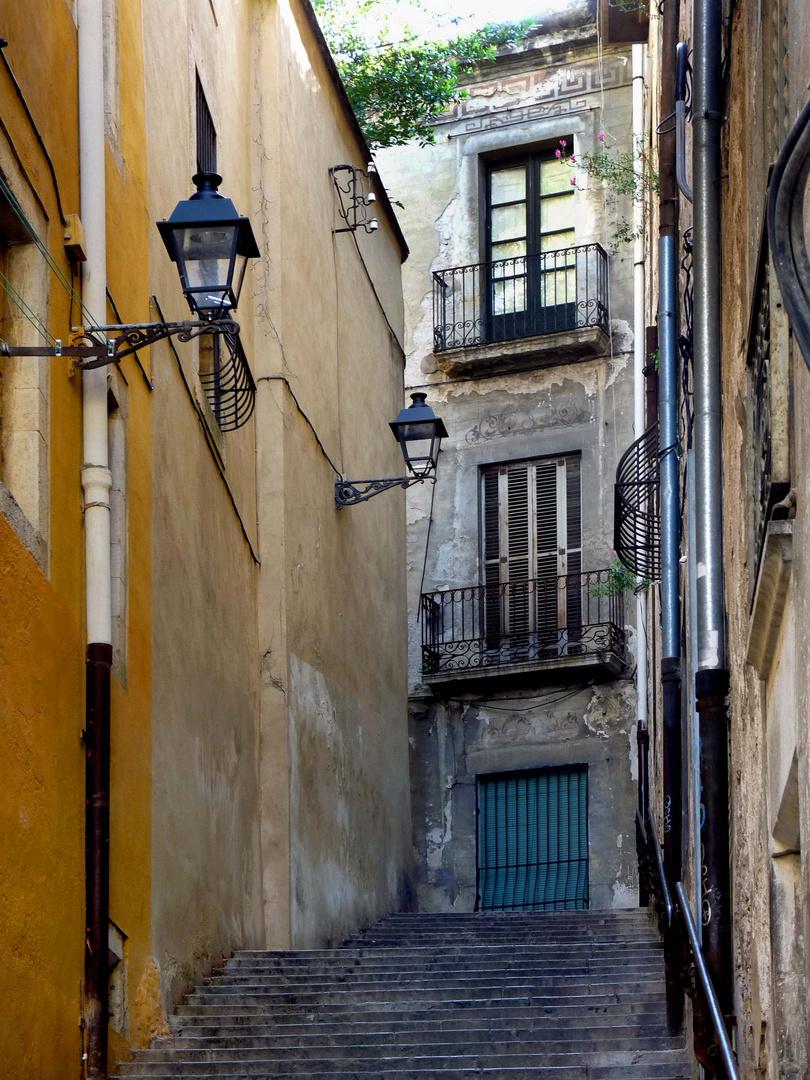 In der Altstadt von GIRONA
