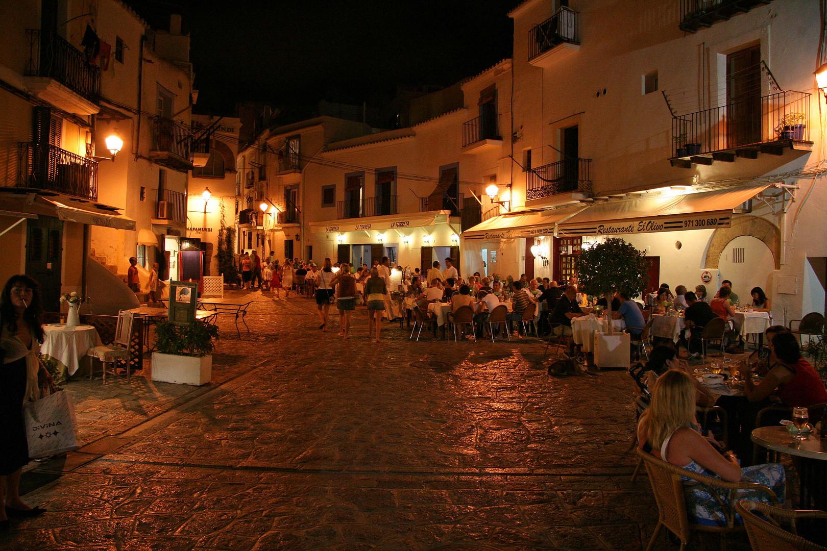 In der Altstadt von Ibiza