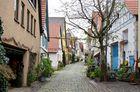 In der Altstadt von Marbach am Neckar