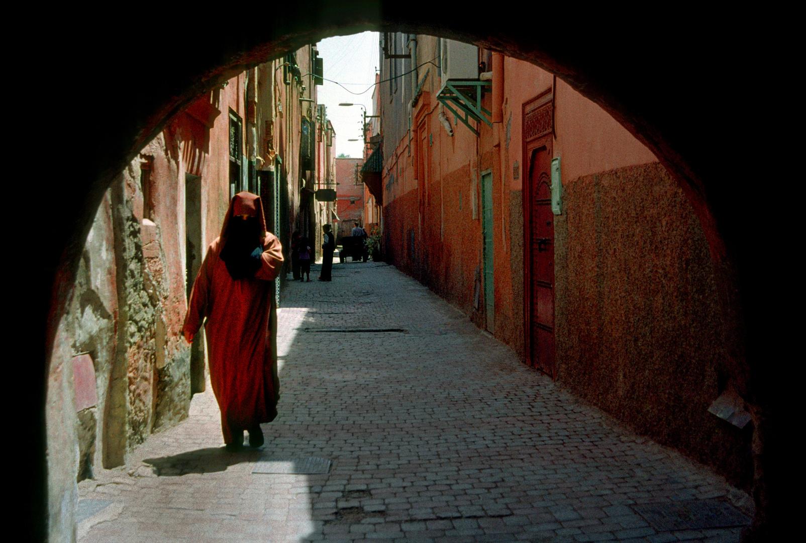 In der Altstadt von Marrakech