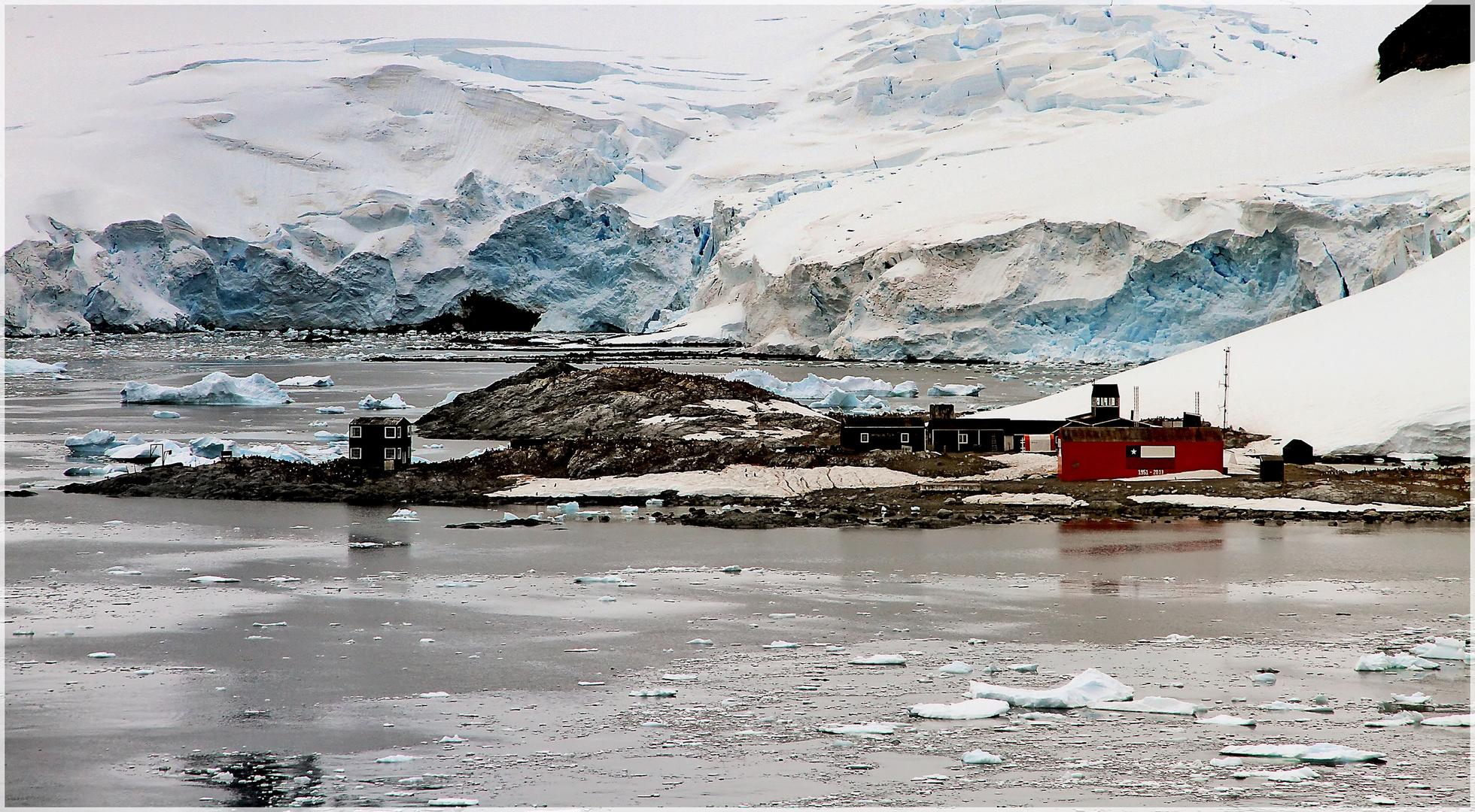 in der Antarktis