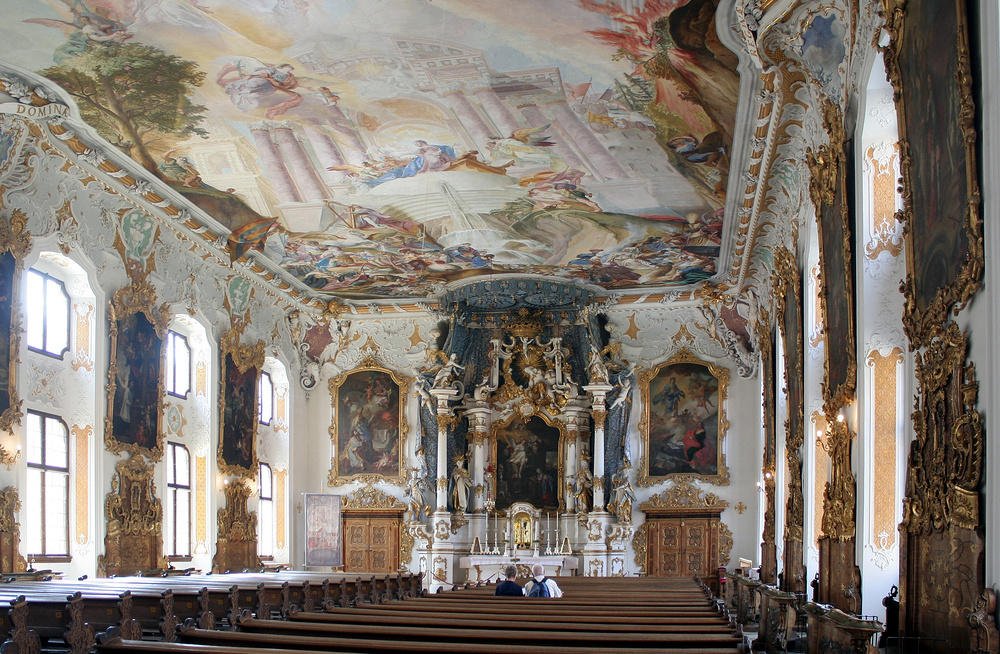 in der asamkirche in ingolstadt foto bild deutschland europe bayern bilder auf fotocommunity. Black Bedroom Furniture Sets. Home Design Ideas