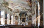 In der Asamkirche in Ingolstadt