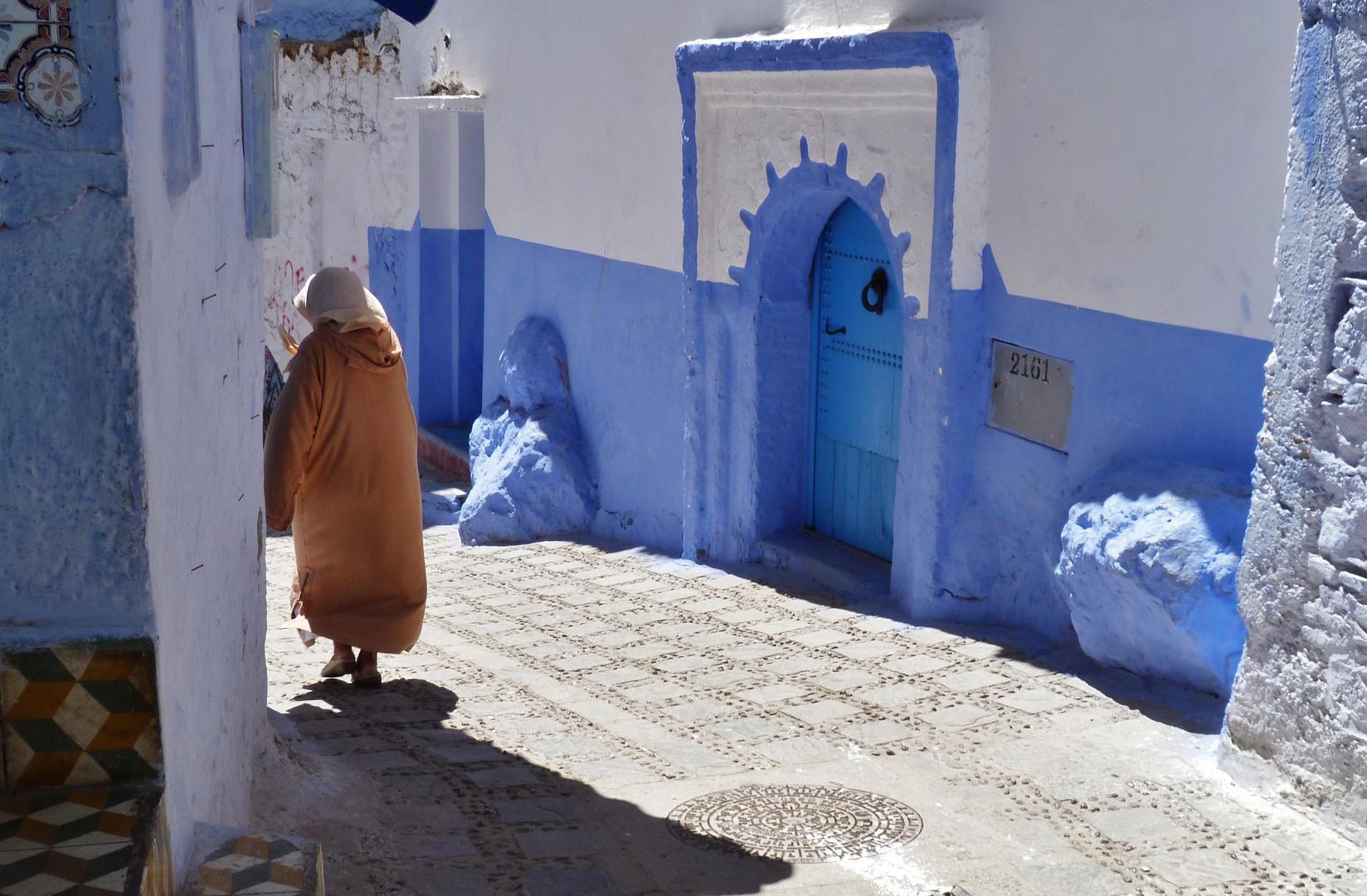 In der blau-weißen Stadt