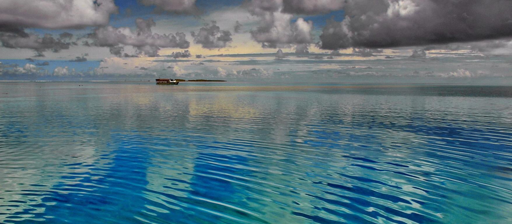 In der blauen Lagune