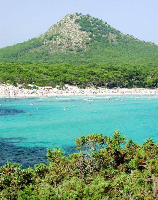 In der Bucht von Cala Ratjada