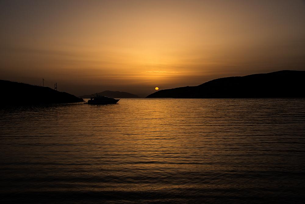 In der Bucht von Katapola...