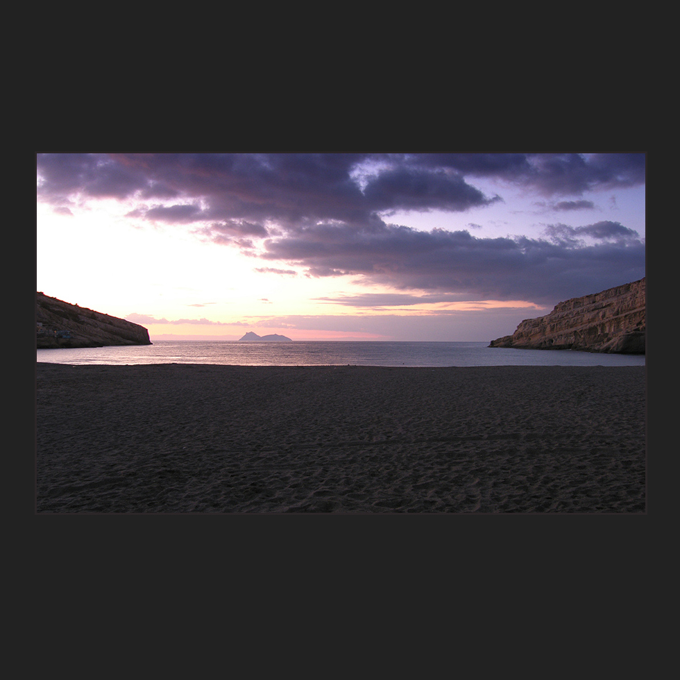 In der Bucht von Matala..