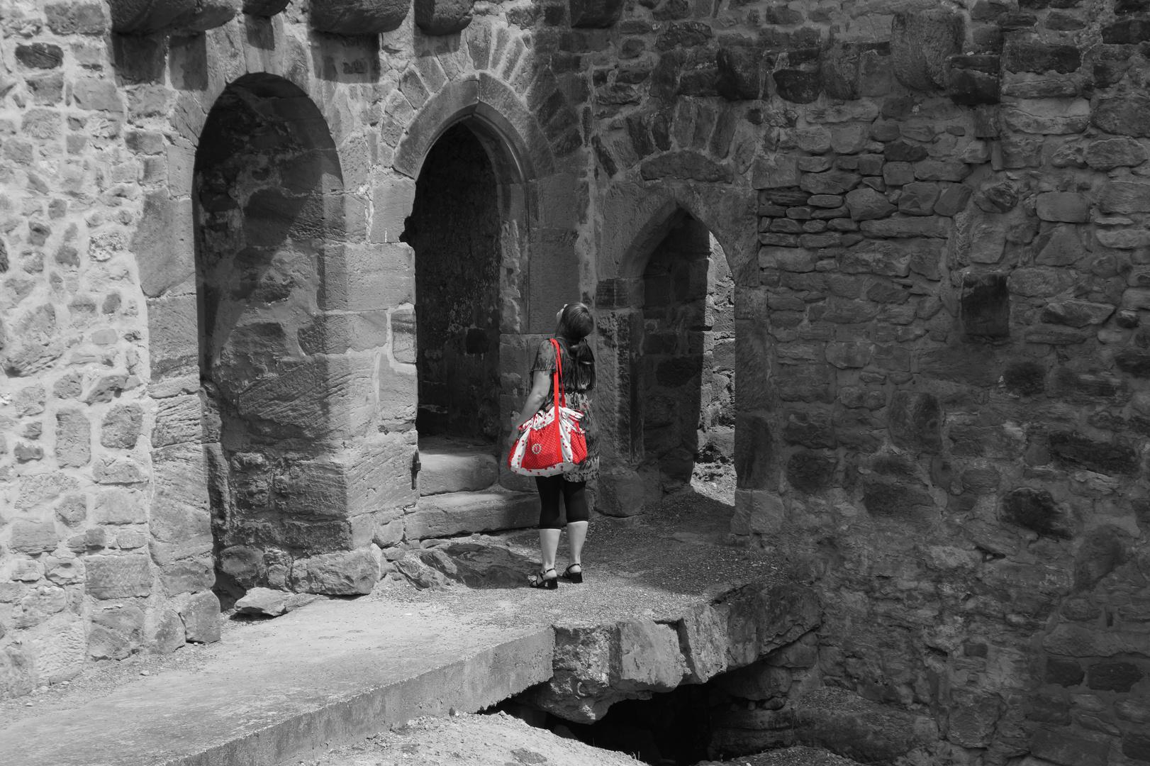 in der Burg...