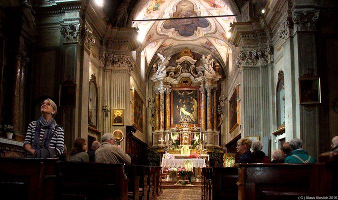 In der Chiesa di S Benedetto der Pfarrkirche von Limone su Garda