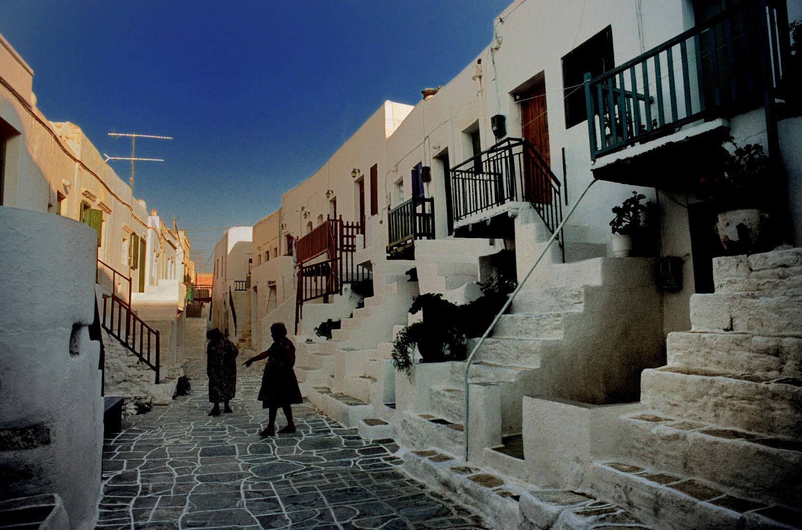 In der Chora auf Folegandros