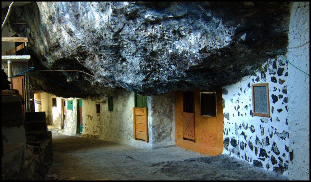 In der Cueva de la Candelaria