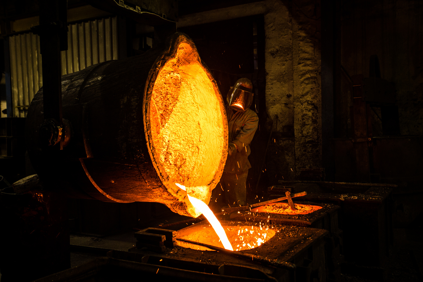 In der Eisengießerei