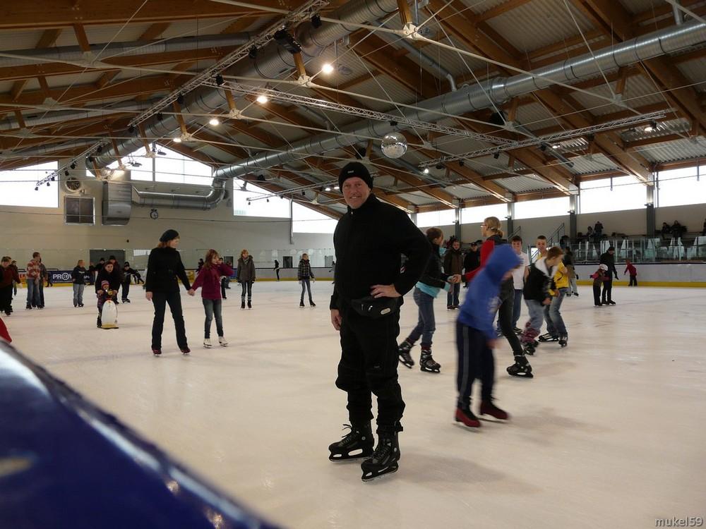 in der Eissporthalle in Brokdorf