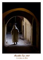 In der engen Altstadt von Fez