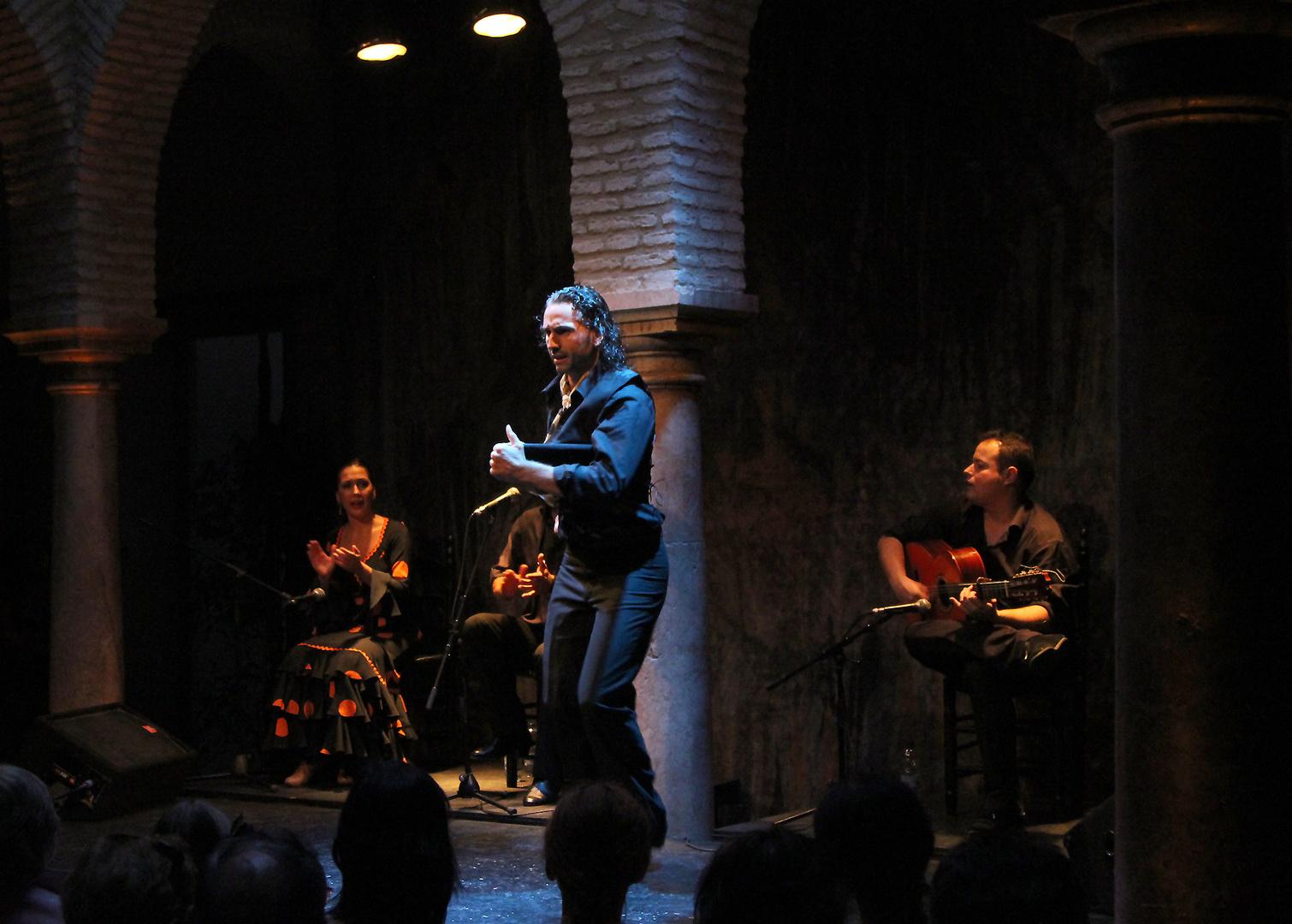 In der Flamenco Schule von Sevilla..