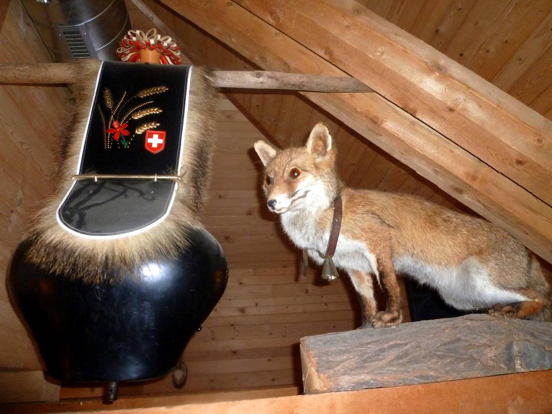 In der Fuchshütte ...