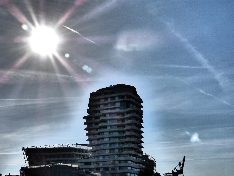 In der Hafencity Hamburg