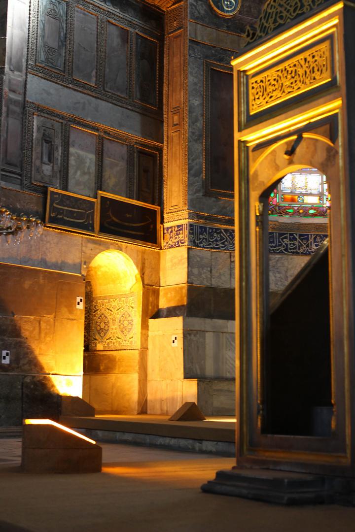 In der Hagia Sofia