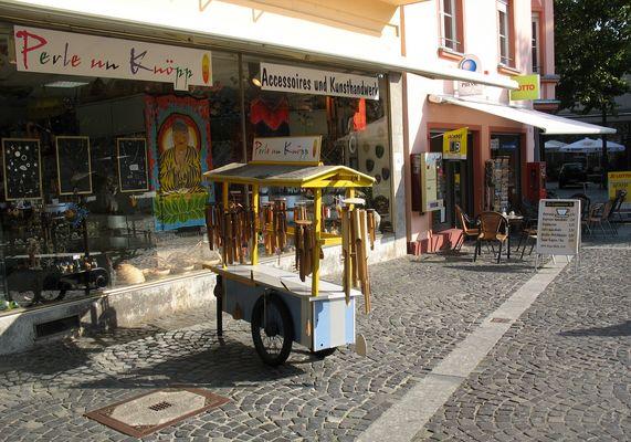 In der Iinnenstadt von Mainz