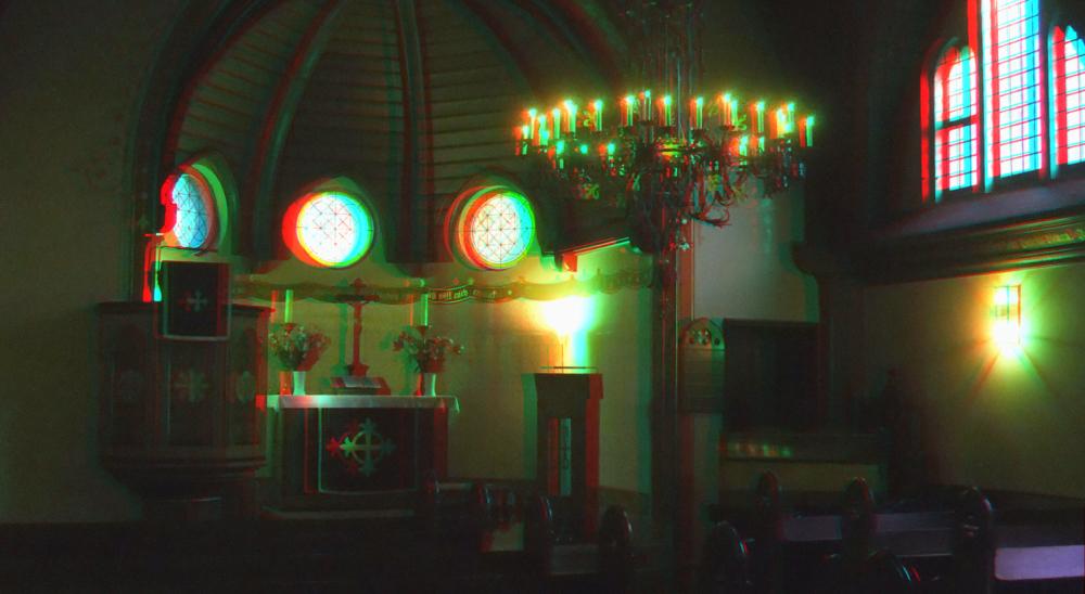 In der Kapelle Klein Glienicke