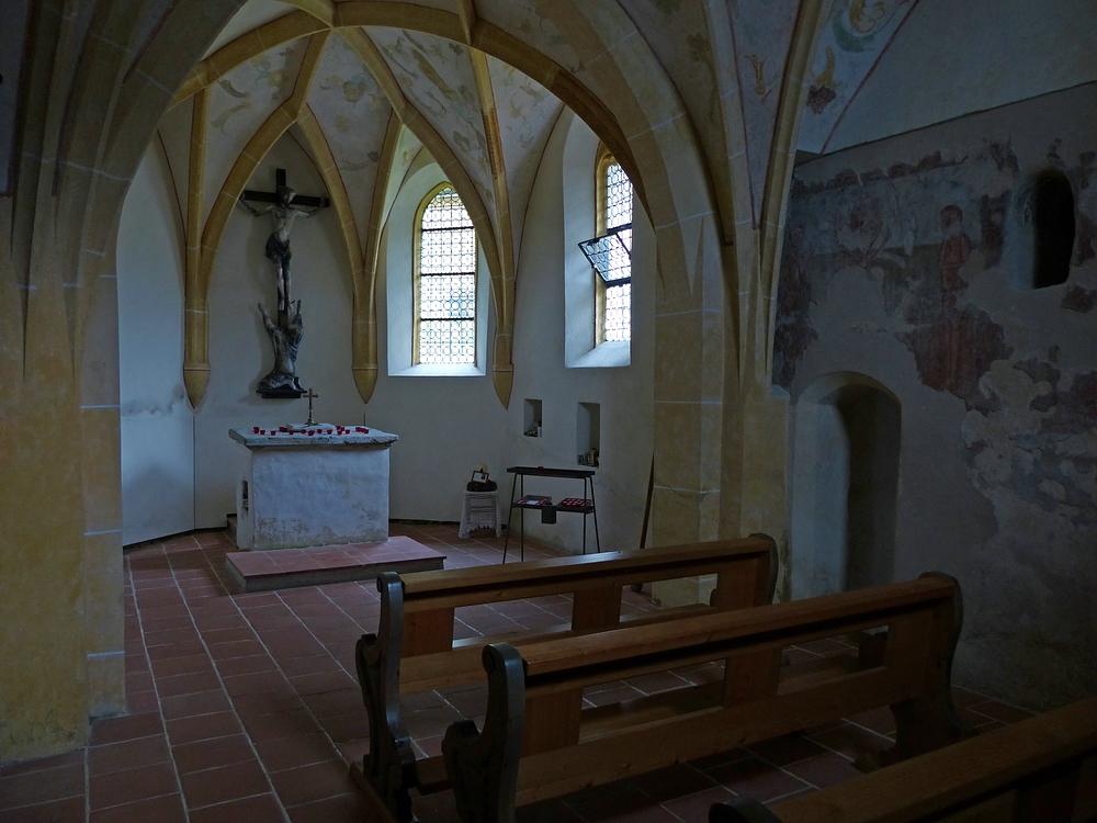 In der Kapelle St.Magdalena