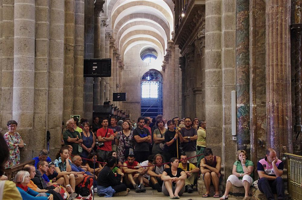 In der Kathedrale ...