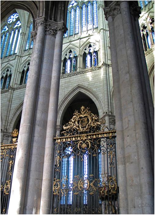 In der Kathedrale von Amiens
