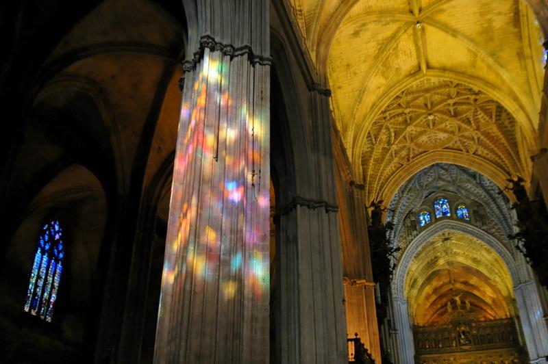 In der Kathedrale von Sevilla 2