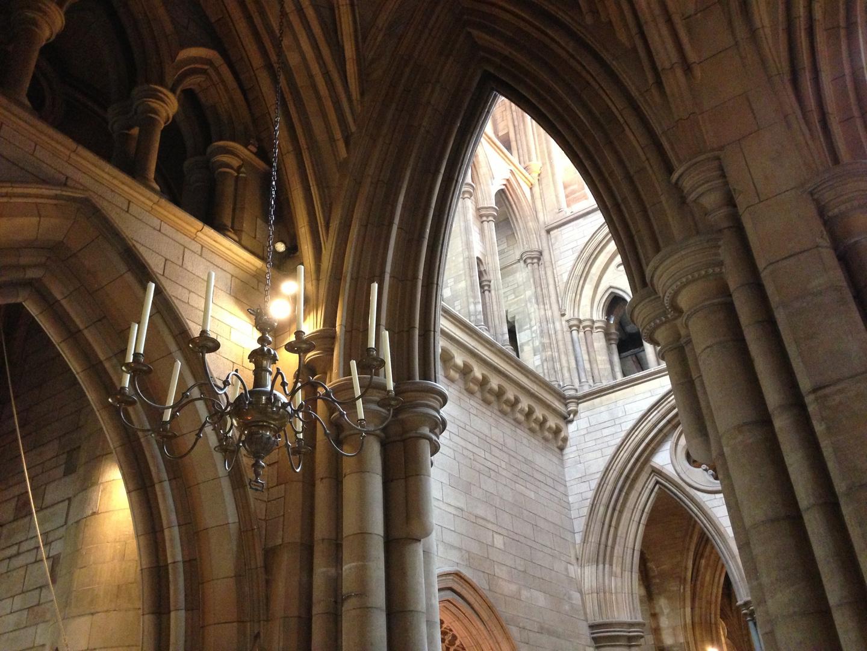 In der Kathedrale von Truro