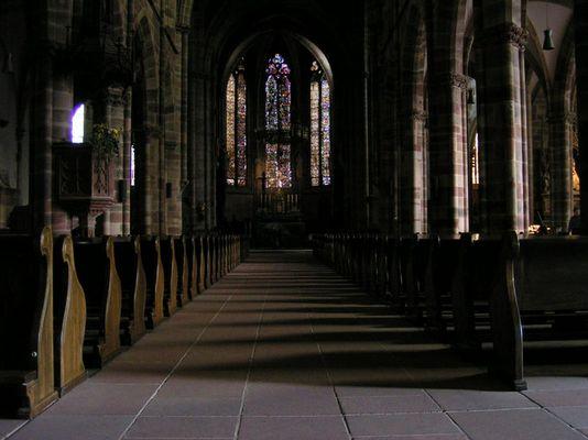 In der Kirche - Wissembourg Elsass