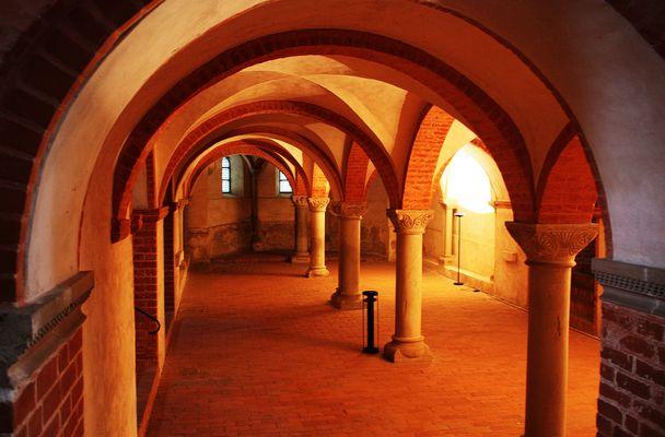 In der Klosterkirche von Jerichow