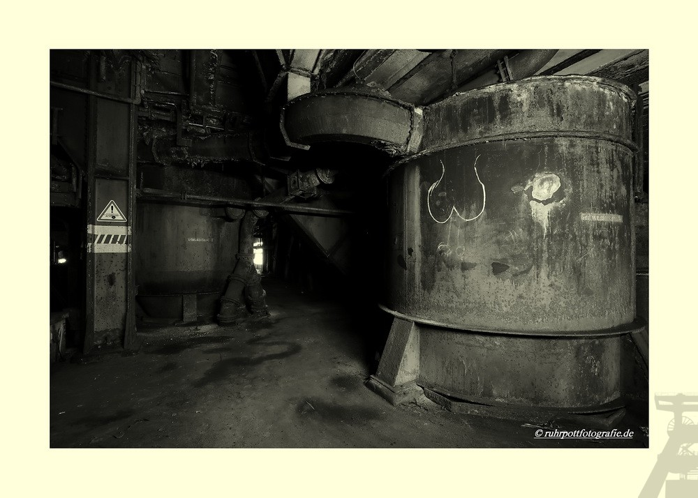 In der Kohlenwäsche
