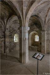 In der Krypta - Schlosskirche Goseck