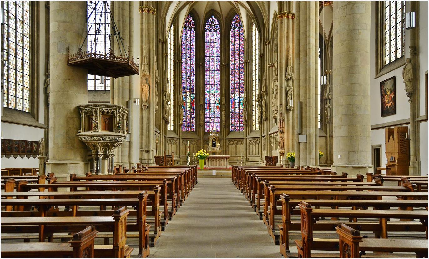 In der Lamberti Kirche in Münster