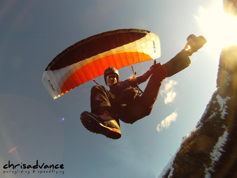 In der Luft abhängen