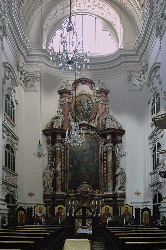 In der Markuskirche ...