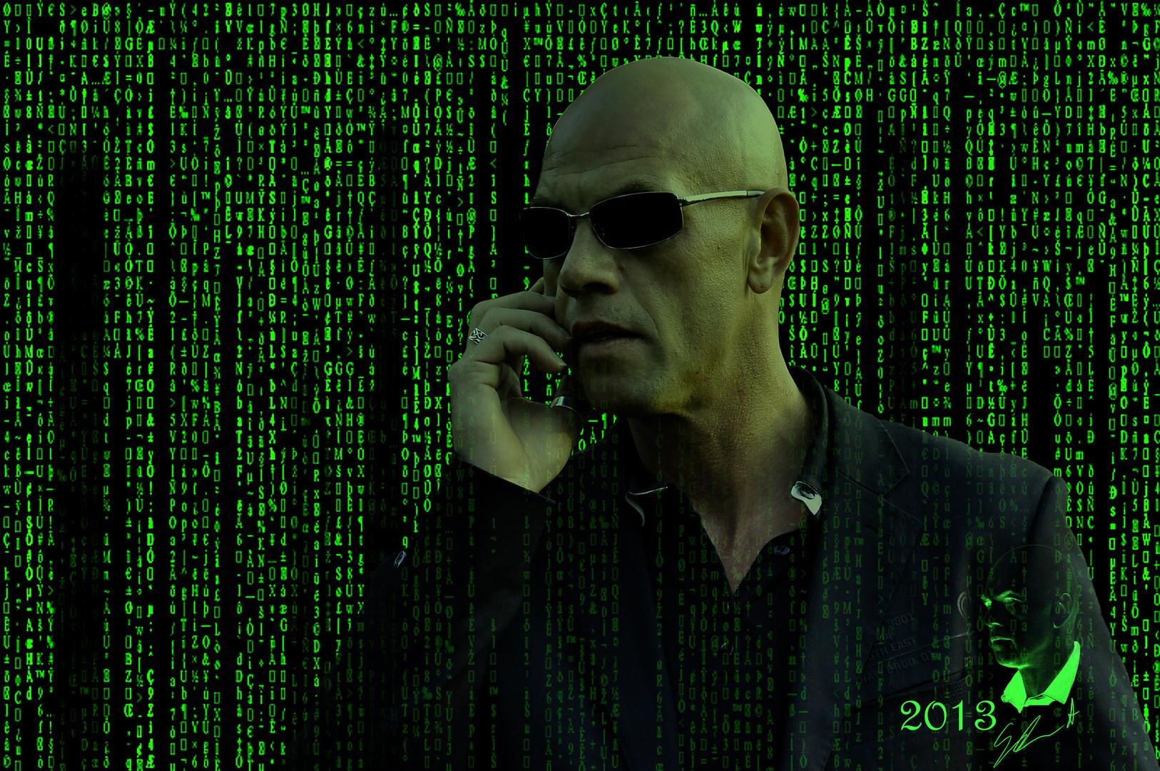 In der Matrix...