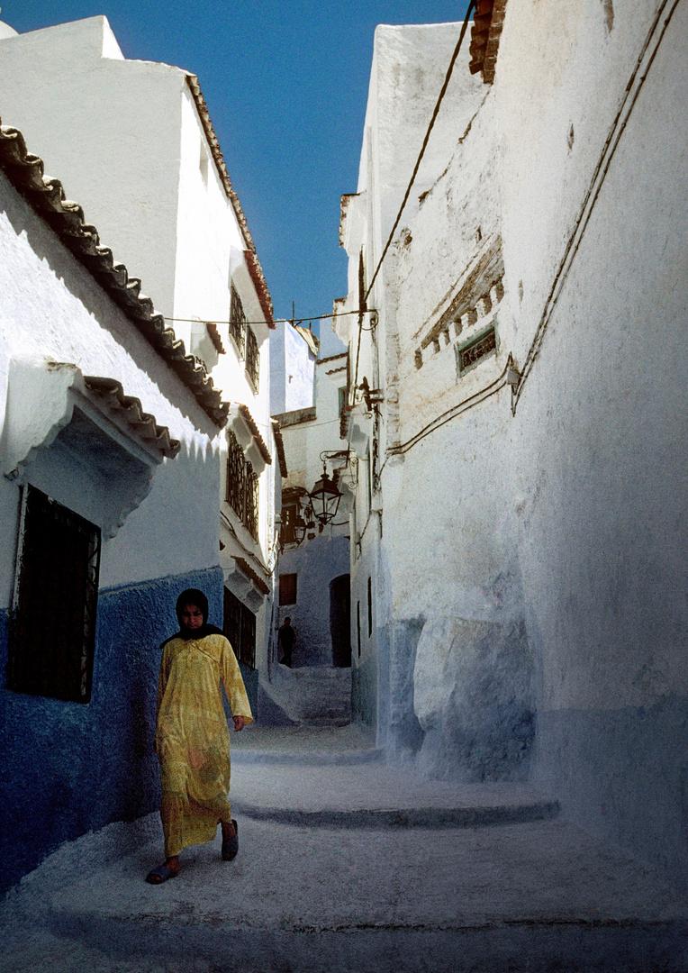 In der Medina von Chefchouen