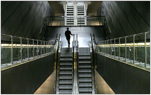 In der Metro Kopenhagen