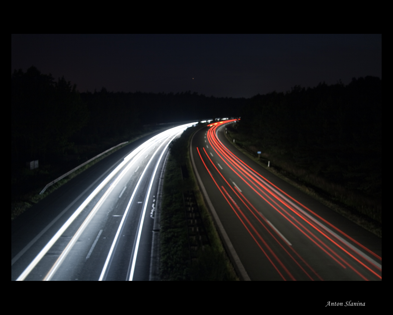 In der Nacht unterwegs