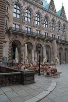 in der Nähe vom Hamburger Rathaus