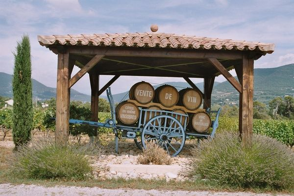 In der Nähe von Vinsobres