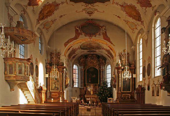 In der Pfarrkirche St. Nikolaus in Stadtbergen