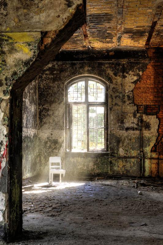 in der Ruine...