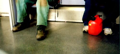 In der S-Bahn....
